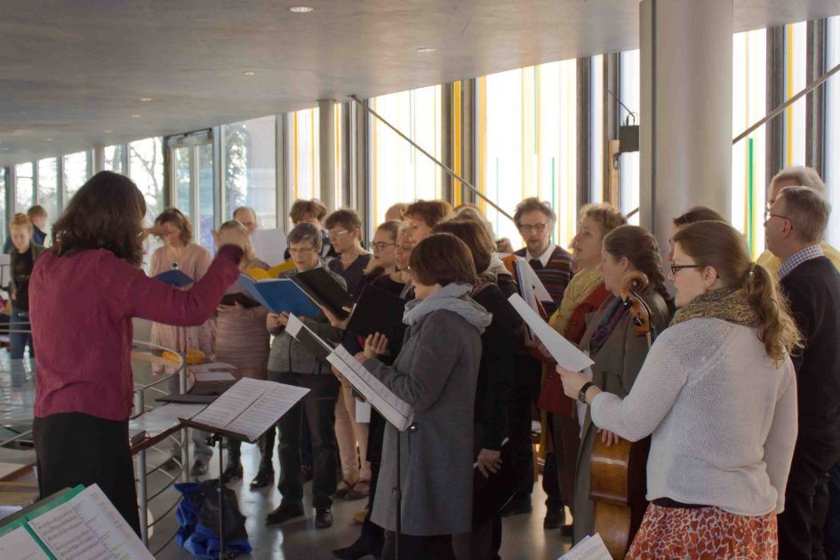 Chor auf der Empore