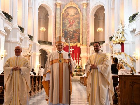 Priesterweihe in Dresden - Sonntag 30.05. 19