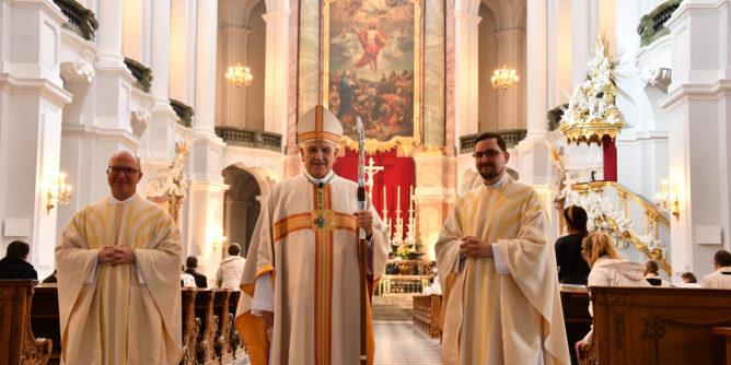 Priesterweihe in Dresden - Sonntag 30.05. 1