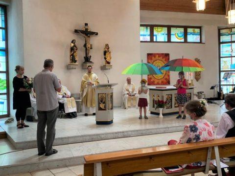 Nachprimiz M. Kreher und Verabschiedung Fr. George Pfarrei St. Benno 17